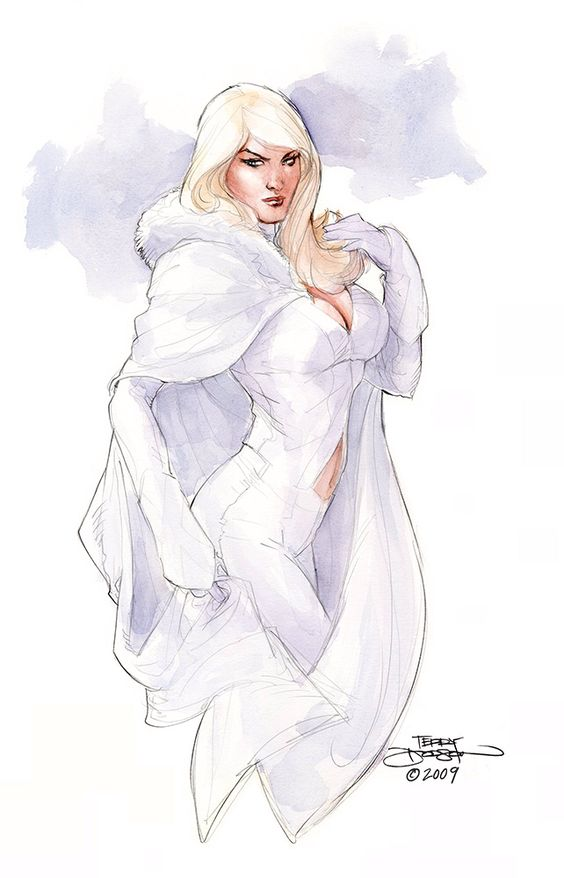 Art by Terry Dodson