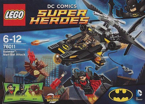 2014 Lego Batman - Manbat + Nightwing set