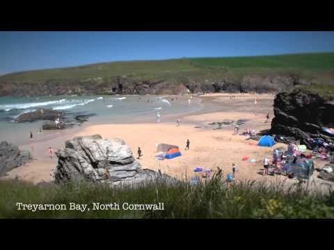 Life's a beach: a digital postcard from Cornwall - YouTube