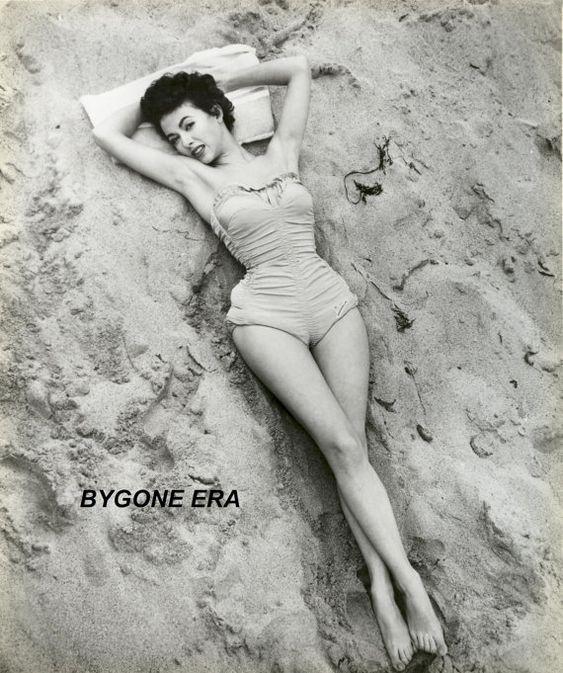 Rita Moreno Swimsuit Poster Art Pinup Girl Photo Artwork 11x14 16x20 or 20x24