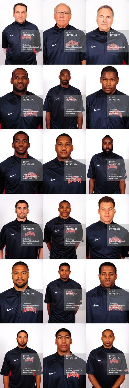 US Olympic Team.  Murrica.