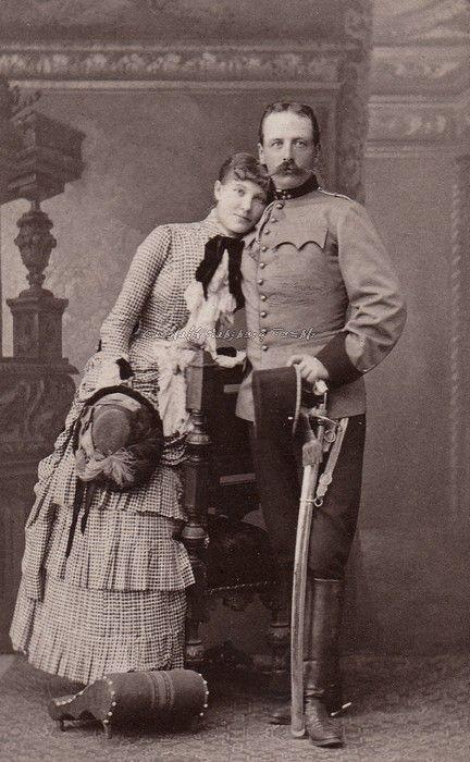 carolathhabsburg:  Sweet couple. Poland, 1880s,: