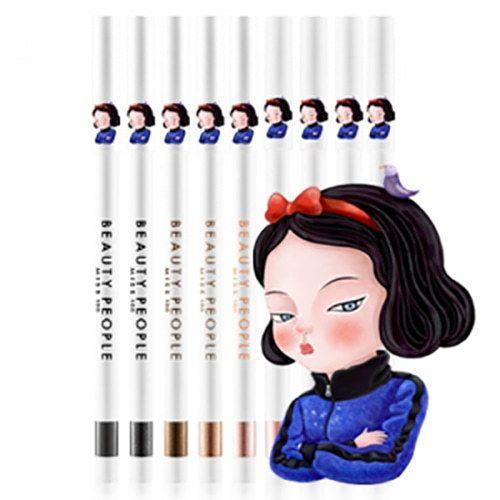 Beauty People Miss 100 Auto Super Gel Pencil Eyeliner Waterproof Gel Eyeliner Beauty People Gel Eyeliner