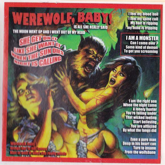 rob zombie band decal sticker music album art werewolf baby cult halloween goth rob zombie pinterest rob zombie music albums and werewolves - Rob Zombie Halloween Music