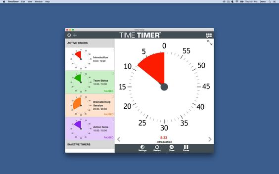NEW!  Time Timer Desktop App
