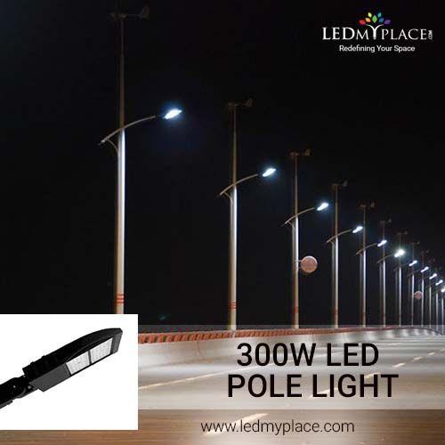 Use 300w Led Pole Lights To Illuminate Outdoor Ambience Led Parking Lot Lights Lights Outdoor Lighting