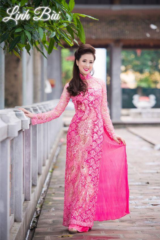 Lựa chọn áo dài cưới mới mẻ và nổi bật tại Linhbui.vn Fa529b378ed57c865a25e99b3e0adf85
