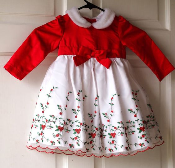 Obsessed with this toddler Christmas Dress! 18 months. by District Vintage LA, $14.00