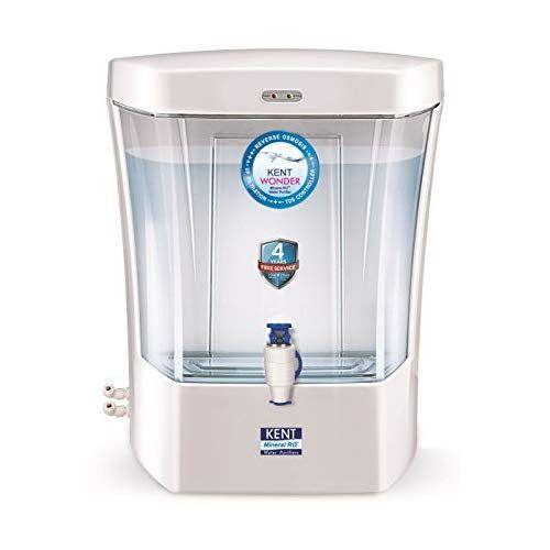 Kent Wonder 7 Litres Wall Mounted Counter Top Ro Water Purifier Peal White Ro Water Purifier Purifier Water Purifier