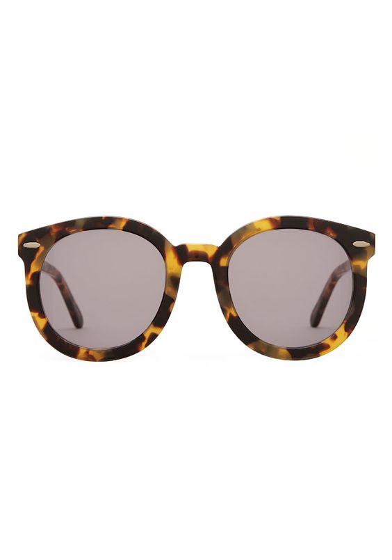 I need these in my life!....Karen Walker Sunglasses Super Duper Strength Oversized Round Frame