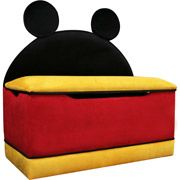 disney mickey mouse large toy box