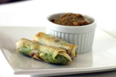 TheSweetArt: Avocado Eggrolls #recipe