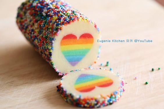 Pinterest Regenbogen Kekse Tutorial: Ein Test   Pinspiration