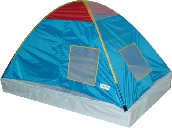 Giga Tent Dream Catcher ''Size Twin'' Children's Tent - Lots of windows let light in so the little one won't get scared and if they want more light just hang a lantern or flashlight from the loop at the top.