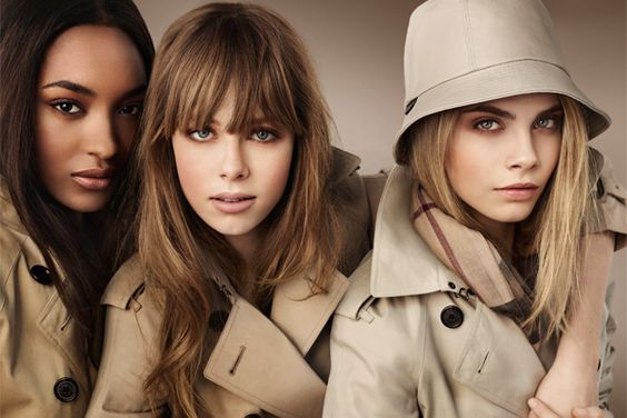 Burberry Beauty's new campaign captures the timeless elegance of the brand's iconic khaki trench.