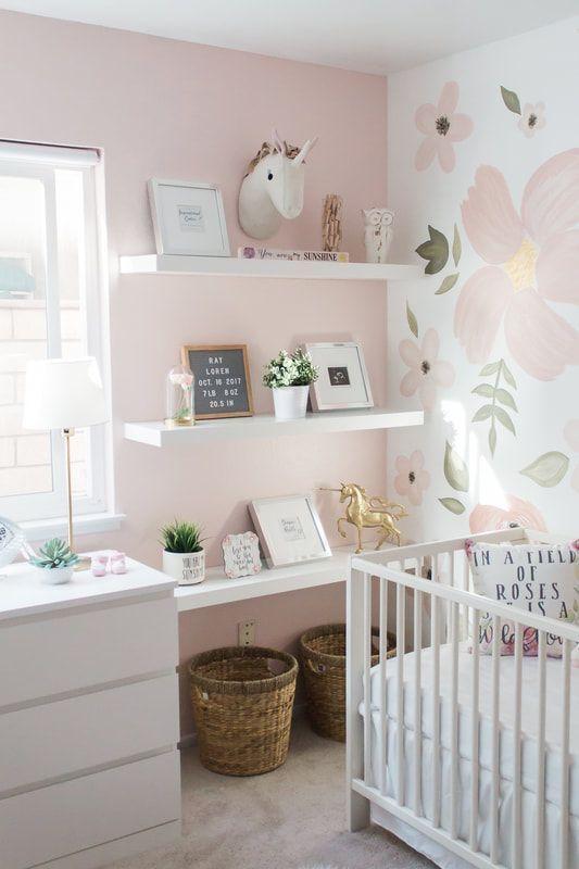35 Nursery Shelf Decor Ideas Styling Tips Momooze In 2020 Nursery Shelf Decor Nursery Shelves Baby Room Decor