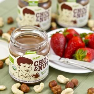 Vegans Go Nutty for Chocolate Spread! Award-winning chocolate spread by Choc