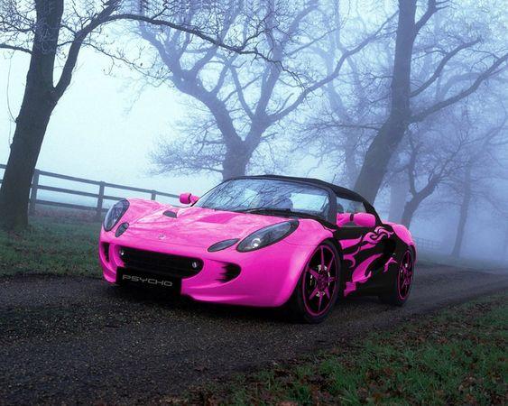 Lotus Elise - Psycho Pink & Black!
