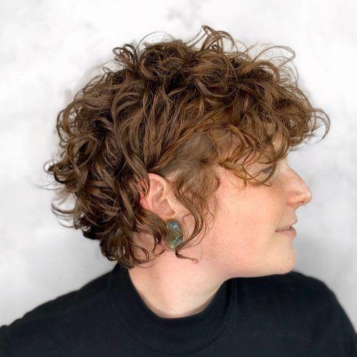 49+ Short haircuts for curly hair ideas ideas