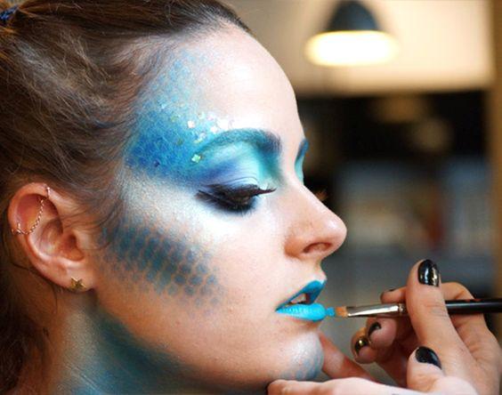 Paare Makeup Halloween Ideen Skelett Zombies
