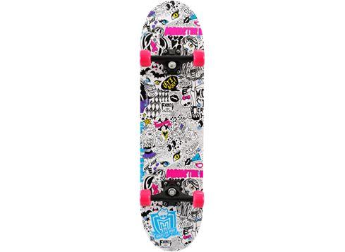 MONSTER HIGH skateboard med LED-ljus