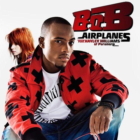 B.o.B, Hayley Williams – Airplanes (single cover art)
