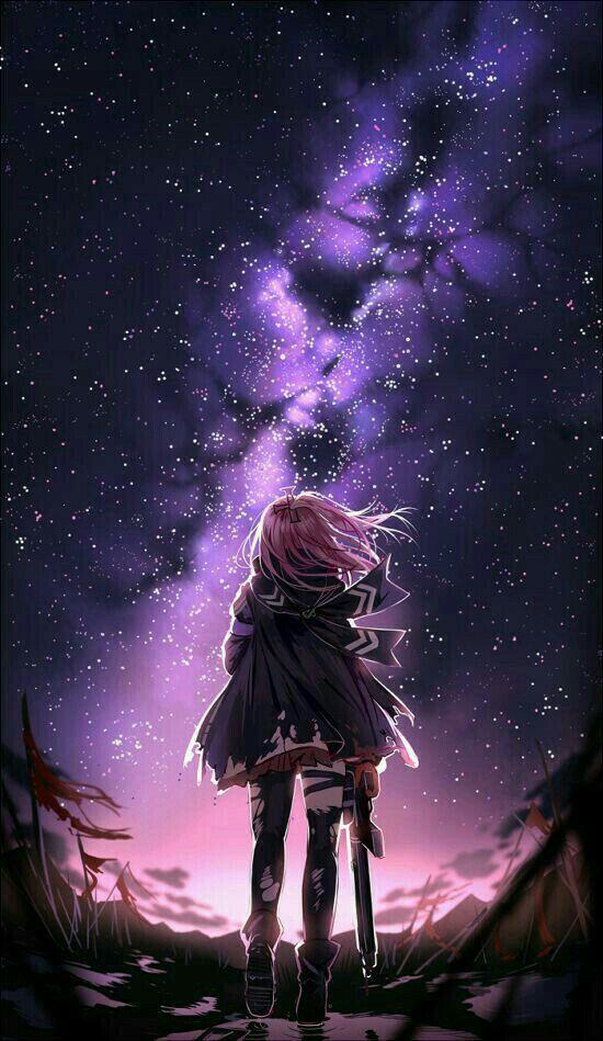Anime Wallpaper Beautiful Background Galaxy