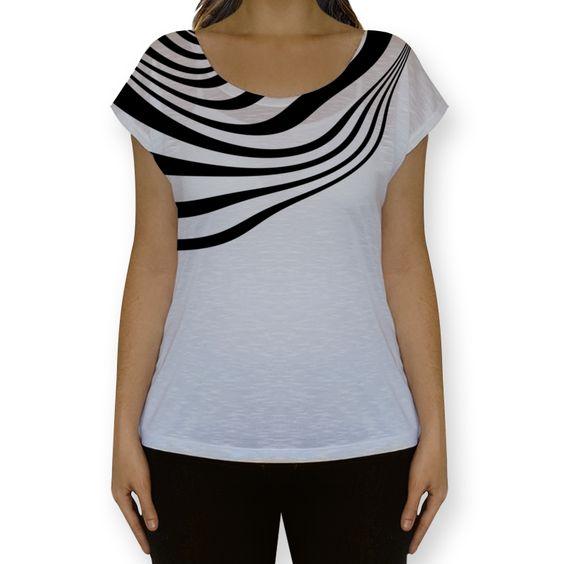 Camiseta fullprint Ain't no Zebra de @mths | Colab55