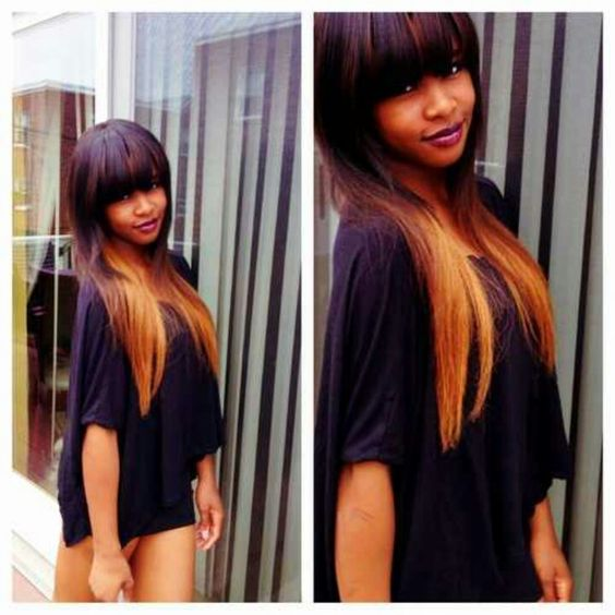 Fantastic Colors The O39Jays And Bangs On Pinterest Short Hairstyles For Black Women Fulllsitofus