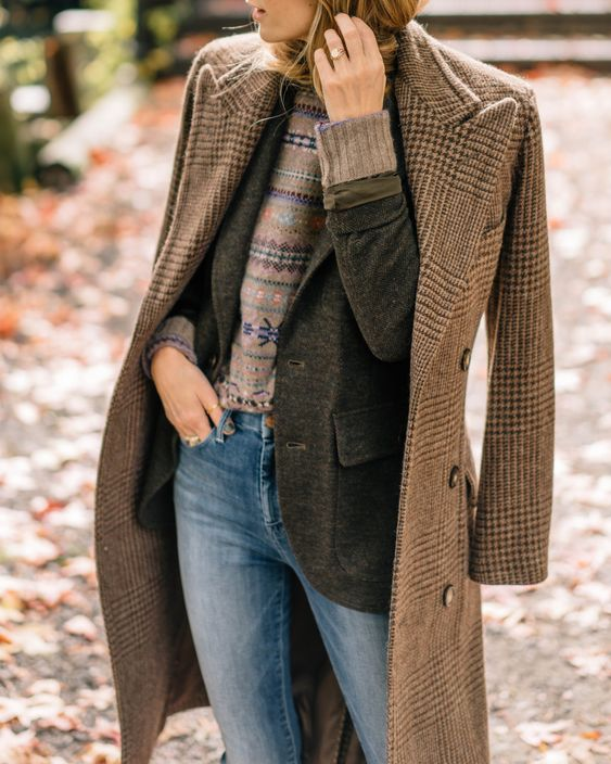"""I don't know if it gets any more """"fall in New England"""" than this. I am absolutely in love with these pieces from Polo Ralph Lauren."""