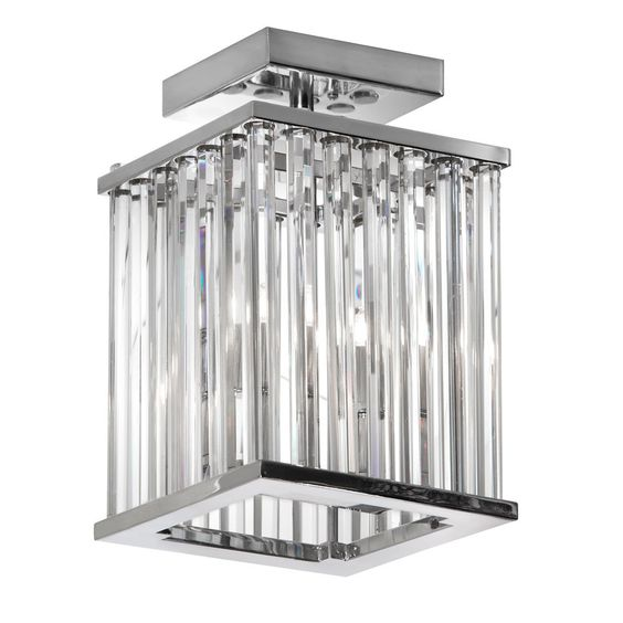 Aruba 2 Light Semi Flush Mount