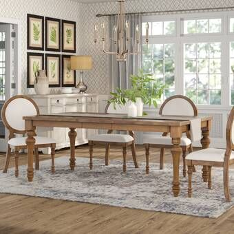 Tiphaine Extendable Dining Table Reviews Birch Lane