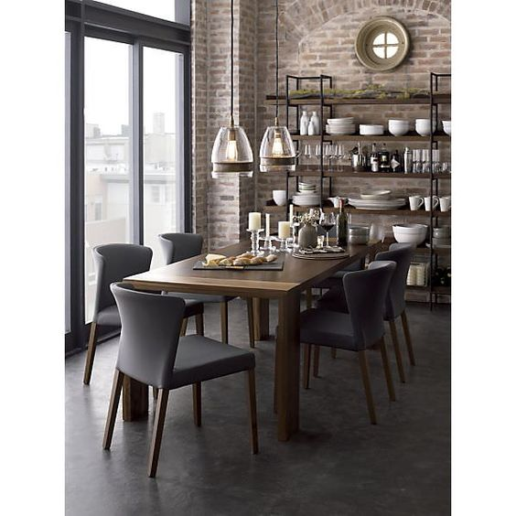 Rustic Modern Dining Room Ideas: Urban Rustic Design Style: How To Get It Right
