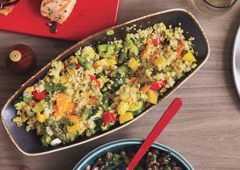 Excellent side dish/veggie combo.