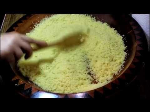 جديد طريقة تبخير الكسكس المغربي الوصفة الاساسية اهداء للمبتدئات ولغير Food Desserts Pudding