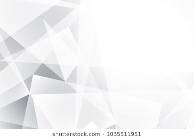 Abstract Geometric White And Gray Color Background Vector