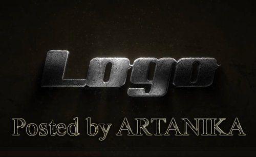 Glossy Metal Logo