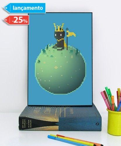 Posters com moldura Lovetetris do estúdio Kola é um poster A3 100% exclusivos na ShopKola.