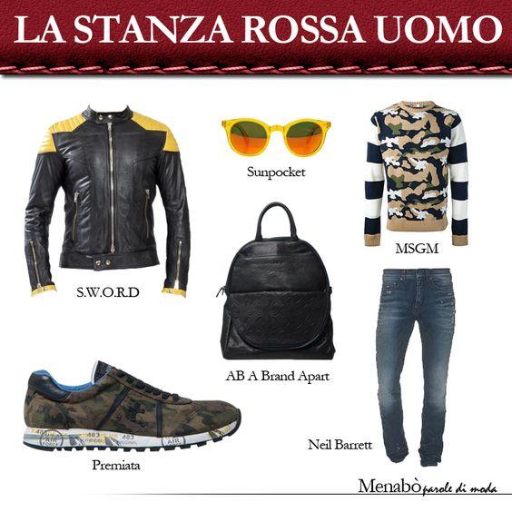 La #moda uomo ha una nuova stanza, è rossa e si trova solo da @Zita Fabiani.