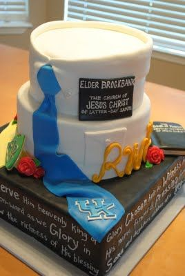 Missionary Farewell Cake