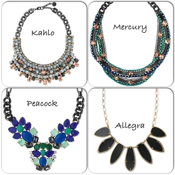 Love the Fall 2013 statement necklaces  Shop at  www.stelladot.com/vanessaangy