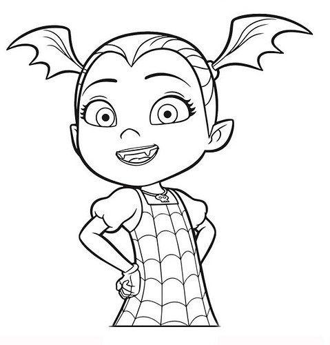 Dibujos E Imagenes De Vampirina Para Imprimir Y Colorear