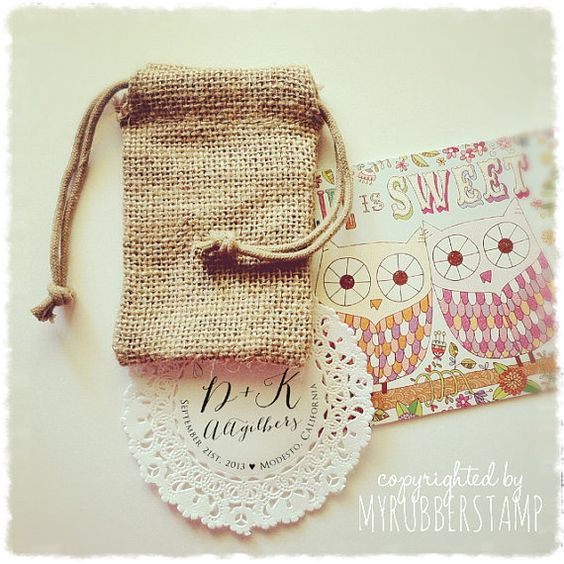 Burlap Wedding Favor Bags Diy : ... Favor Bags for Wedding, Birthday, DIY Weddings, Bridal Shower, Kids