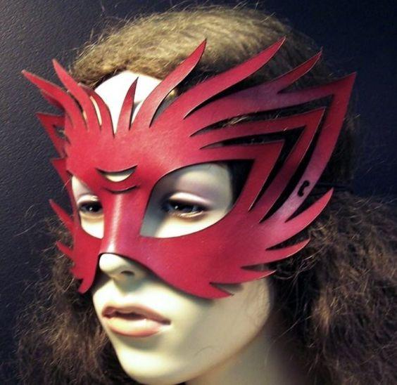 wildcat/red fox mask