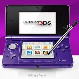 Midnight Purple Nintendo 3DS