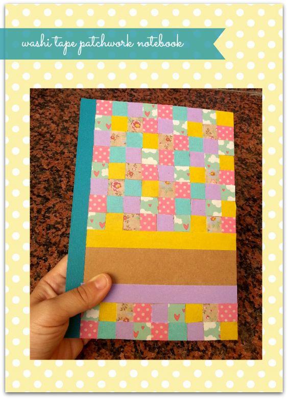 DIY molón: Cómo decorar una libreta con washi tape
