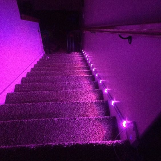 Another installation picture. The user said it took about one hour for installation and clean up.  Coming to #Kickstarter soon. Like us on Facebook @ http://ift.tt/1Sqjx4q #led #gadget #home #art #electronic #interiordesign #indiegogo #crowdfunding #3dprinting #led #leds #stairs #nerd #house #pink #installation #crowfunding #geek by gadgetsmyth