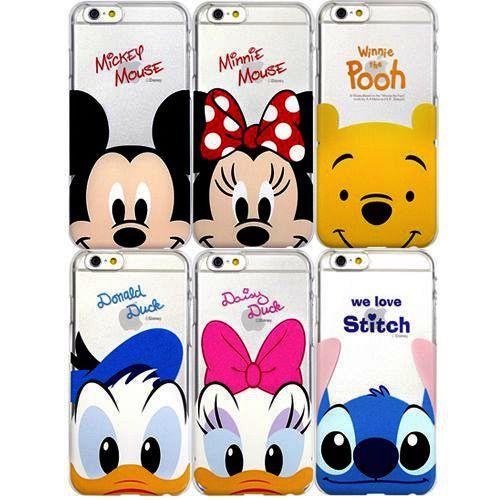 Accesorios moviles Fundas Disney Mickey Minnie Donald Stitch en
