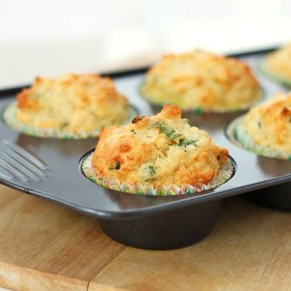 Sour Cream Chive Muffins