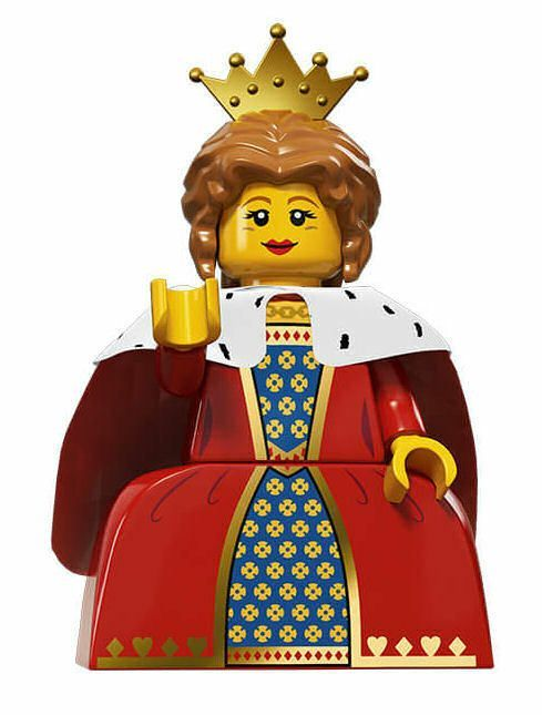 Lego Sammelfigur Serie 15 Königin